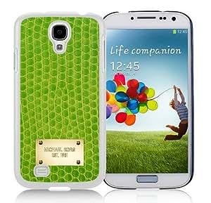 Newest M-K Samsung Galaxy S4 Screen Case ,Unique M-K 127 White Samsung Galaxy S4 Cover Case Fashion And Durable Designed Phone Case