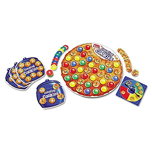 Learning Resources Smart Snacks Counting Cookies Game - LRNLER7410 ,#G14E6GE4R-GE 4-TEW6W227986