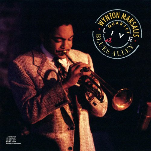 The Wynton Marsalis Quartet Live At Blues Alley By Wynton