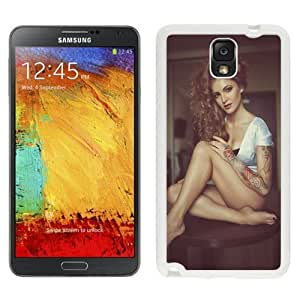 NEW Unique Custom Designed For Case Samsung Galaxy S5 Cover Phone Case With Julia Balanceva Look At My Tattoo Model_White Phone Case