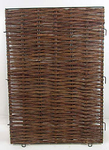 Woven Willow Hurdle Panel Gate (Landscaping Gates Willow)