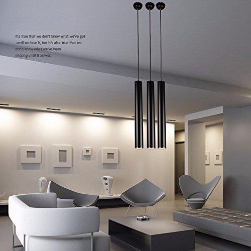 Pack of 3 LukLoy 48cm Pendant Lights Lamp Spot Light for Kitchen Island Dining Living Room Shop Decoration (Warm White (Autumn Island Pendant)