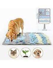 YAMI Schnüffelteppich für Hunde Schnüffelrasen Hund Schadstofffreies Hundespielzeug Fördert Natürliche Nahrungssuche