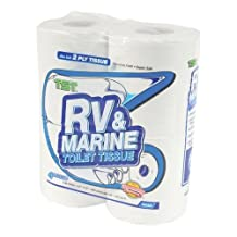 Camco 40274 RV TST 2-Ply Toilet Tissue - 4 pack
