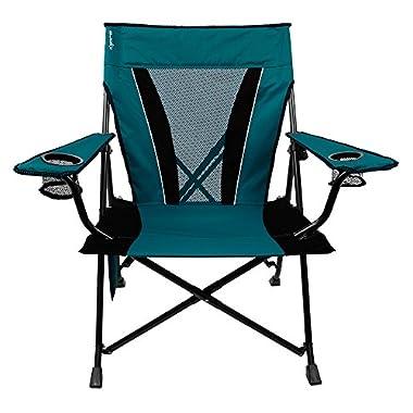 Kijaro Dual Lock Folding Chair-XX-Large (Cayman Blue Iguana)