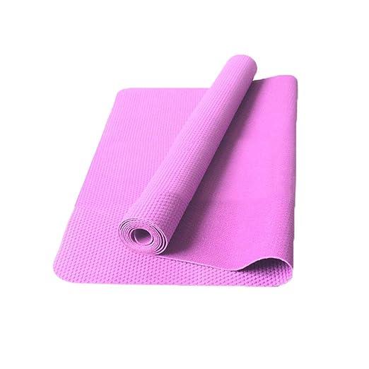 QQCR-A Estera de Yoga de Viaje Ultrafina Estera de Goma de ...