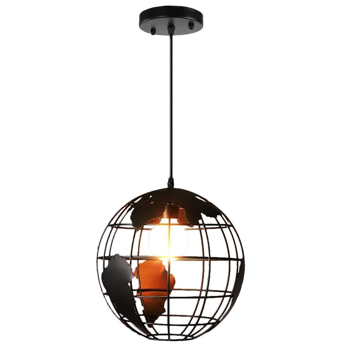 Pendant Lamp, iPstyle Modern Simple Creative Pendant Lights Globe Shape Office Bedroom Living Room Restaurant Pendant Lighting Restaurant Hotel Farmhouse Cafes, Hallway Decoration