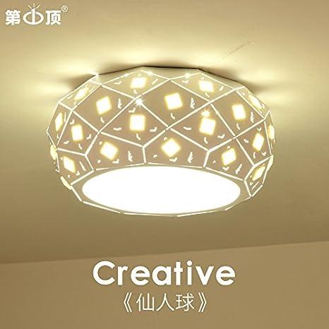 Lámparas de salón habitaciones sencillas y modernas LED techo ...