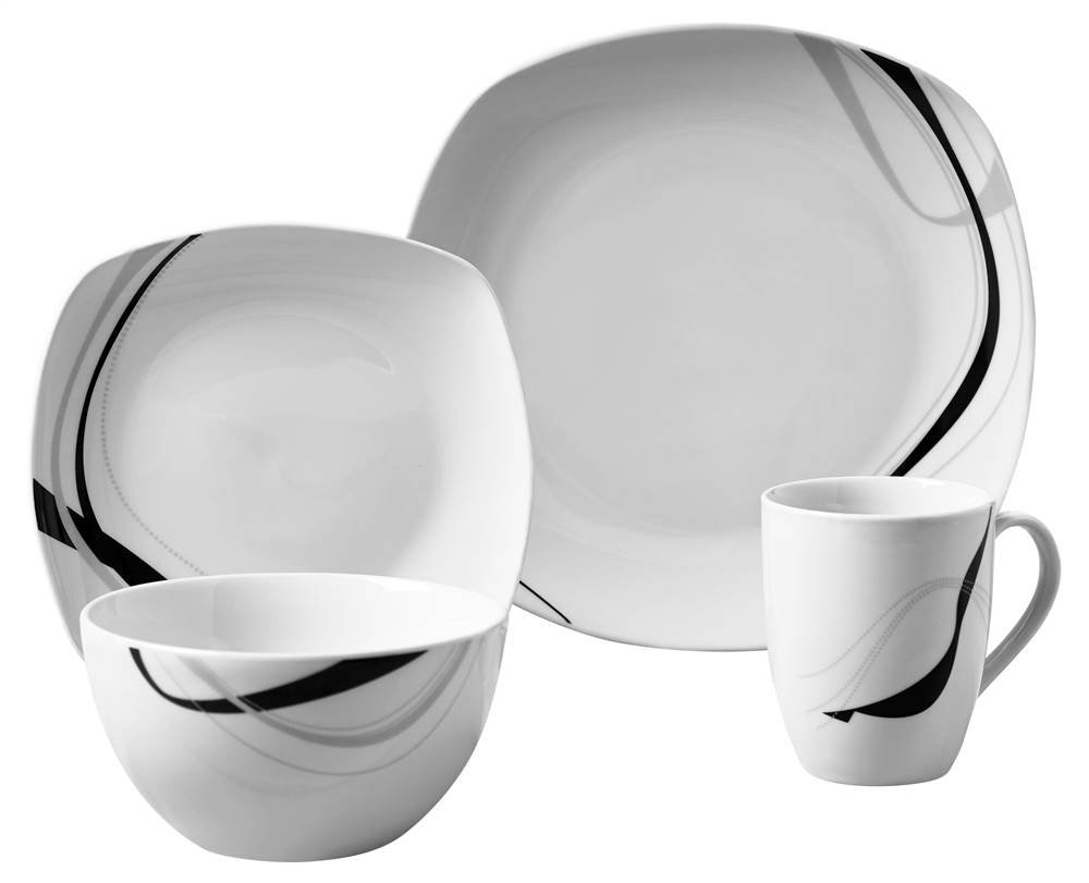 sc 1 st  Amazon.com & Amazon.com | Carnival 16 Piece Dinnerware Set: Dinnerware Sets