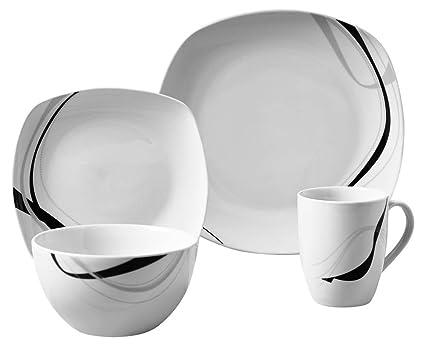 Amazon.com | Carnival 16 Piece Dinnerware Set: Dinnerware Sets