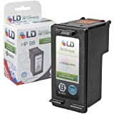 LD © Remanufactured Replacement Ink Cartridge for Hewlett Packard C8767WN (HP 96) High-Yield Black