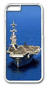 ICORER Favorite iphone 6 plus Case, Aircraft Carrier Case Cover for Apple iPhone 6 Plus 5.5in PC Transparent