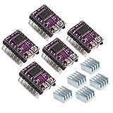 Geeetech Stepstick 4-layer DRV8825 Stepper Motor Driver Module + Heat Sink + Sticker for 3D Printer Reprap RP A4988 Pack of 5 pcs