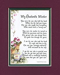 A Gift Poem For A Mother-in-law, #87, A Present For A Mother-in-law\'s 50th 60th 65th 70th 80th Birthday.