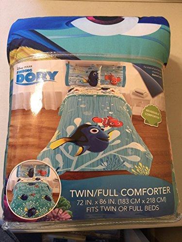 Disney Pixar Finding Dory Twin/Full Comforter - Sheets Finding Disney Nemo