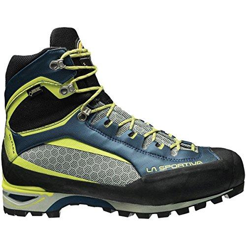 La Sportiva Trango Tower GTX Mountaineering Boot - Men's Ocean/Sulphur, (Tower Gtx Mountaineering Boot)