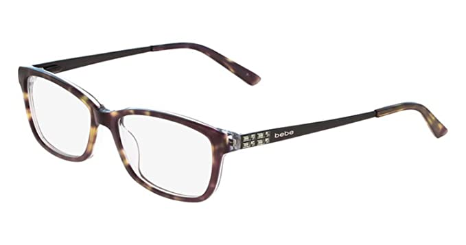 cca0c329c5c Image Unavailable. Image not available for. Color  Eyeglasses bebe BB5084  BB 5084 Jet Tortoise