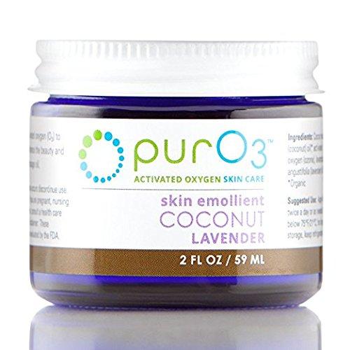 PurO3 Ozonated Coconut Oil with Lavender - 2 oz