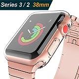 (2 Pack) Zhuoshu for Apple watch 3 case 38mm, Flexible TPU...