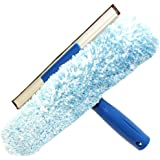 Unger Pro 921061C 10 in. Microfiber Combi-Squeegee Scrubber Connect and Clean Locking System 10 in.