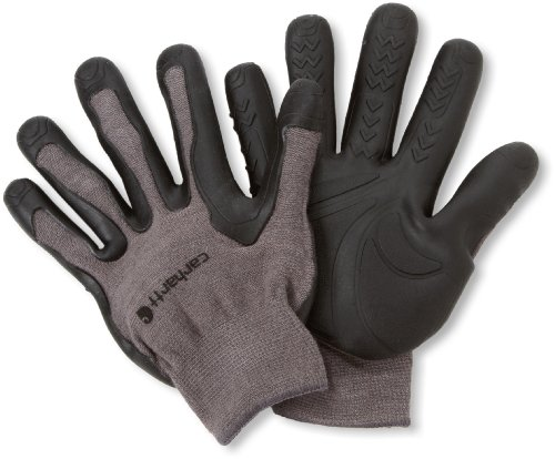 Carhartt Men's Ergo Pro Palm Glove, Grey, Large/X-Large