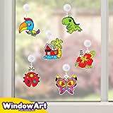 Window Paint Art Stickers Kit Kids – Children's