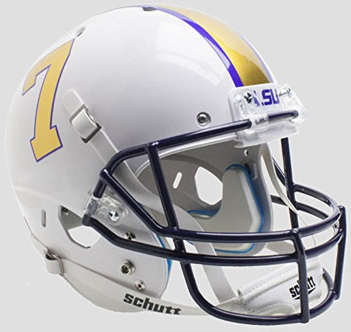 (NCAA LSU Tigers Unisex NCAA LSU Tigers Replica XP Football Helmetncaa LSU Tigers Replica XP Football Helmet, Alt, One Size)