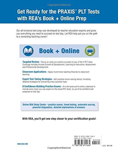 PRAXIS II PLT EC, K-6, 5-9, 7-12 Book + Online (PRAXIS