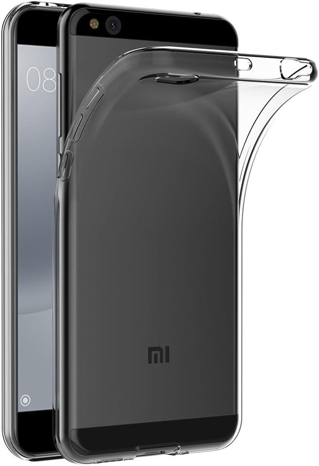 Funda Xiaomi Mi 5C, AICEK Transparente Silicona Fundas para Xiaomi ...