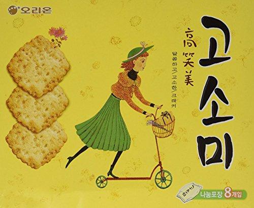 Orion Gosomi Sweet Cookie Cracker (42g x 8 packs)