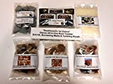 Rockhound's 1st Choice Rock Tumbler All-In-One Deluxe Refill Grit Kit, burnishing media & tumbling rough. -Use in Thumlers, Lortone ,Chicago & All other tumblers.