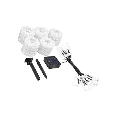 non-brand MagiDeal Décoration de Fête de Lanterne Lumière Fée LED Guirlandes Eclairage Spécial - Blanc