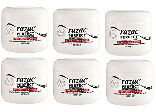 Razac Perfect for Perms Finishing Creme Daily Hairdressing and Scalp Conditioner, 4 Ounce (6 ()