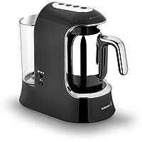 Korkmaz A862-01 kahvekolik aqua kahve makinesi siyah/krom