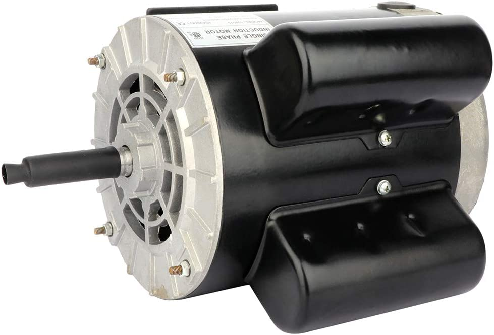AUTOMUTO Set of 1 3450 RPM CCW Electric Motor 2 SPL HP 60 HZ 115V//230V Protector Included
