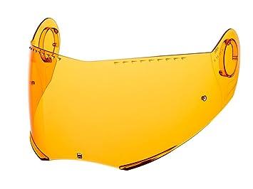 Schuberth S2 / C3 / Pro Casco De Moto Recambio Visor H/D NARANJA -