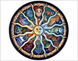 MailingArt Paint By Numbers Kits For Adults Kids With Wooden Frame - Zodiac Signs