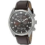 Seiko Men's SNN241 Chronograph Brown Dial Watch