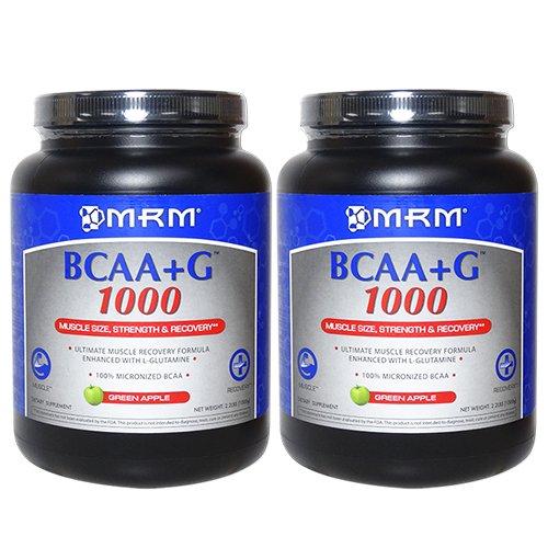BCAA+G1000 グリーンアップル味 1kg [海外直送品] B01EW9QA1C