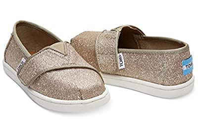TOMS Tiny Classics Rose Gold Glimmer 10011289 Tiny Size
