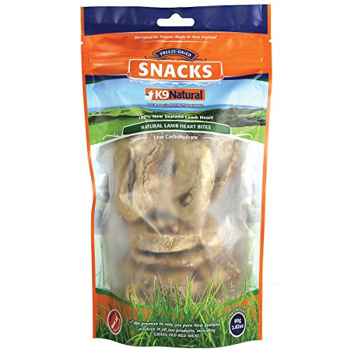 K9 Natural Lamb Heart Bites Freeze-Dried Dog (Muttropolis Heart)