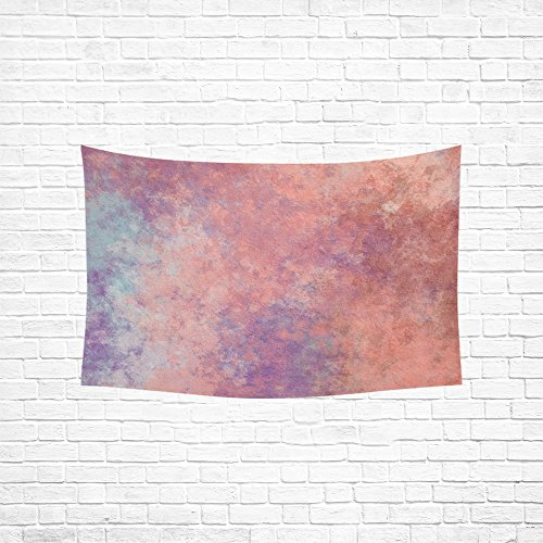 Texture Pink Task Hippie Tapestries Wall Hanging Flower Tapestry Wall Hanging Dorm Decor For Living Room Bedroom 60 X 40 Inch ()