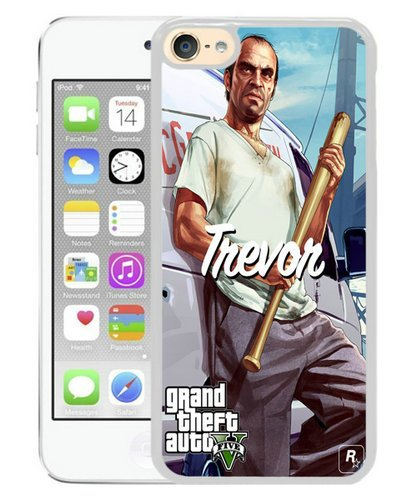 Gta 5 Trevor With Bat And Van Iphone 5 Wallpaper White Ipod