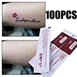 Tattoo Accessories, 100Pcs Tattoo After Care Cream For Makeup Vitamin Repair Eyebrows Scar Ointment