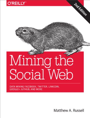 Download Mining the Social Web: Data Mining Facebook, Twitter, LinkedIn, Google+, GitHub, and More Pdf