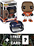 Demarcus Ware - Broncos: Funko POP! x NFL Vinyl Figure + 1 FREE Official NFL Trading Card Bundle [45371]