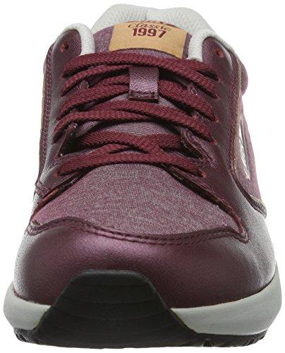 MBT Damen 1997 Sneaker, Schwarz Multicolore (Burgundy/Rose GoldBURGUNDY/ROSE GOLD)