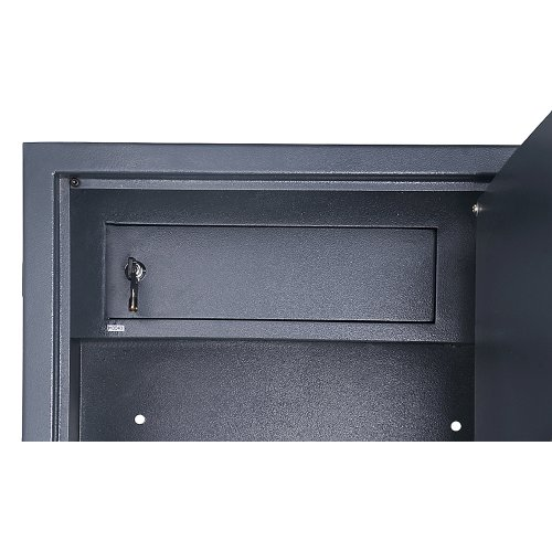 Paragon Lock and Safe - 8 Rifle Safe 5.4 CF Gun Cabinet with Internal Lockbox Safe