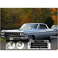 1963-1964 Cadillac USA-630 II High Power 300 watt AM FM Car Stereo/Radio with iPod Docking Cable
