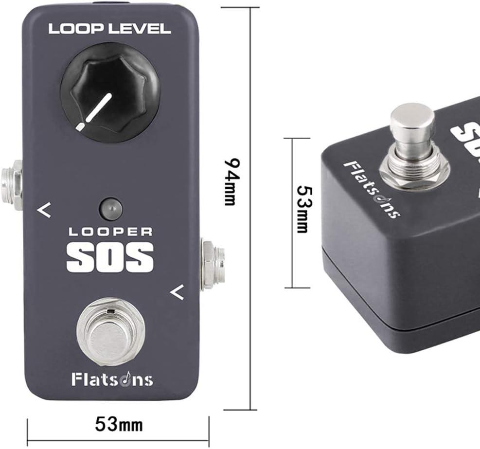 ACHICOO KOKKO FLP2 Loop Mini Looper SOS Guitar Loop Pedal Looper Effects 5 Minutes Looping Time Loop Station